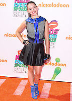 WESTWOOD, LOS ANGELES, CA, USA - JULY 17: Fatima Ptacek at the Nickelodeon Kids' Choice Sports Awards 2014 held at UCLA's Pauley Pavilion on July 17, 2014 in Westwood, Los Angeles, California, United States. (Photo by Xavier Collin/Celebrity Monitor)