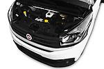 Car Stock 2017 Fiat Talento Pack 4 Door Cargo Van Engine  high angle detail view