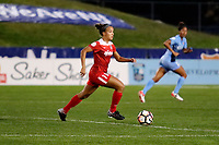 Piscataway, NJ - Sunday, September 10, 2017: Game action during a regular season National Women's Soccer League (NWSL) match between Sky Blue FC and the Washington Spirit at Yurcak Field.  Sky Blue took an early lead, but Washington scored two unanswered goals to win, 2-1.