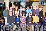 NIGHT OUT: The Hogan family enjoying a family night out at the Kingdom Greyhound Stadium on Friday seated l-r: Sean Moloney, Olive Moloney, Francesca Maxwell, Mairead Hogan and Louise Lacey. Back l-r: Jerry Hogan, Orla Moloney, Tommy Maxwell, Gillian Maxwell, Adrian Cahill, Marcella Moloney, Kieran Hogan, Pat Hogan and Marie Hogan.