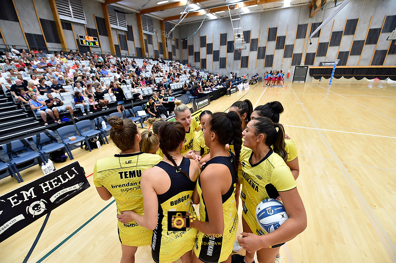 Preseason Tournament - Pulse v Steel at Ngā Purapura, Otaki, New Zealand on Sunday 10 February  2019. <br /> Photo by Masanori Udagawa. <br /> www.photowellington.photoshelter.com