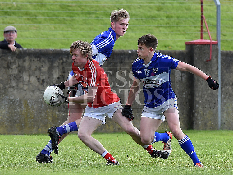Louth Eoin McDaid Laois Finbar Crowley. Photo:Colin Bell/pressphotos.ie