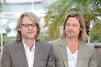 "Andrew Dominik and Brad Pitt attending the ""Killing them Softly"" Photocall during the 65th annual International Cannes Film Festival in Cannes, France, 22nd May 2012..Credit: Timm/face to face /MediaPunch Inc. ***FOR USA ONLY***"
