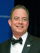 Republican National Committee chairman Reince Priebus arrives for the 2016 White House Correspondents Association Annual Dinner at the Washington Hilton Hotel on Saturday, April 30, 2016.<br /> Credit: Ron Sachs / CNP<br /> (RESTRICTION: NO New York or New Jersey Newspapers or newspapers within a 75 mile radius of New York City)