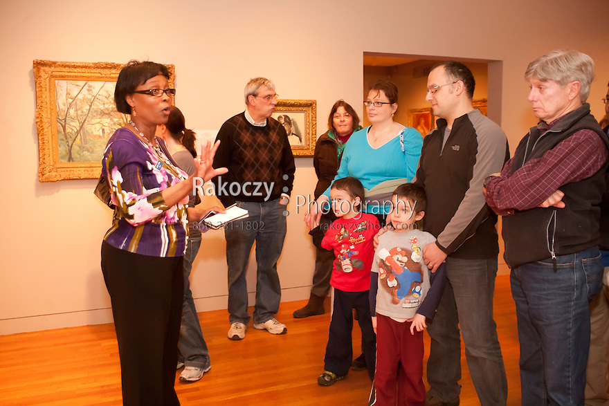 Wadsworth Atheneum Museum of Art's Last Saturdays for Families event