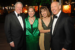 Chairs Rich and Nancy Kinder with Andrea and Bill White at the Discovery Green Gala at Discovery Green Park downtown Saturday Feb. 23,2008.(Dave Rossman/For the Chronicle)