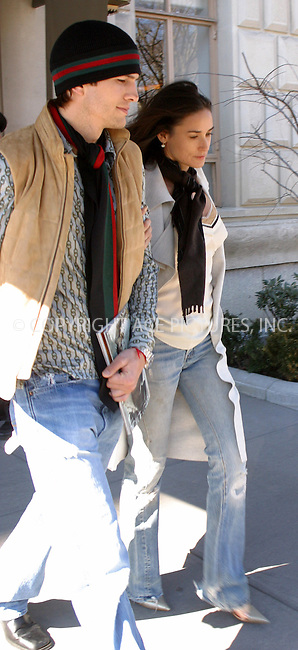 WWW.ACEPIXS.COM . . . . .***EXCLUSIVE!!! FEE MUST BE NEGOTIATED BEFORE USE!!!***....MARCH 15, 2005....Ashton Kutcher and Demi Moore are seen leaving their upper West Side apartment on a beautiful day in the city.....Please byline: PAUL CUNNINGHAM - ACE PICTURES..... *** ***..Ace Pictures, Inc:  ..Philip Vaughan (646) 769-0430..e-mail: info@acepixs.com..web: http://www.acepixs.com