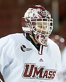 Jeff Teglia (UMass - 1) - Sweden's Under-20 team played its last game on this Massachusetts tour versus the University of Massachusetts-Amherst Minutemen losing 5-1 on Saturday, November 6, 2010, at the Mullins Center in Amherst, Massachusetts.