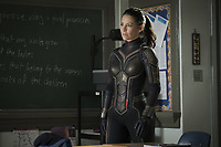 ANT-MAN AND THE WASP (2018)<br /> EVANGELINE LILLY<br /> <br /> *Filmstill - Editorial Use Only*<br /> CAP/FB<br /> Image supplied by Capital Pictures