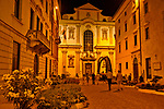 Via Belenzani at night, a street that leads to the Piazza Duomo