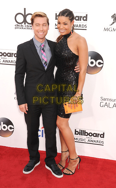 LAS VEGAS, CA- MAY 18: Singers Lance Bass (L) and Jordin Sparks arrive at the 2014 Billboard Music Awards at the MGM Grand Garden Arena on May 18, 2014 in Las Vegas, Nevada.<br /> CAP/ROT/TM<br /> &copy;Tony Michaels/Roth Stock/Capital Pictures