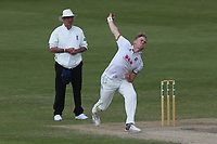 Sam Cook in bowling action for Essex during Worcestershire CCC vs Essex CCC, Specsavers County Championship Division 1 Cricket at New Road on 13th May 2018