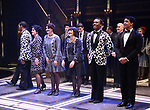 """The cast during the Curtain Call for Signature presents """"Grand Hotel - The Musical"""" at The Signature Theatre on April 27, 2019 in Arlington, Virginia - The Musical."""