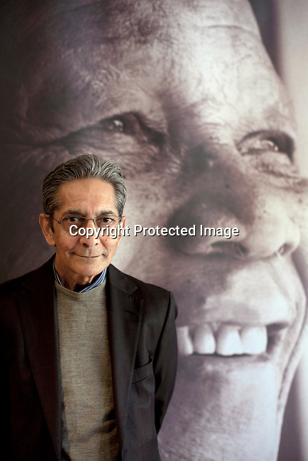 JOHANNESBURG, SOUTH AFRICA : Achmat Dangor, the CEO of Nelson Mandela foundation, at their offices in Johannesburg, South Africa. (Photo by Per-Anders Pettersson)