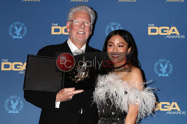 Louis J Horvitz, Constance Wu<br /> at the 71st Annual Directors Guild Of America Awards Press Room, Dolby Ballroom, Hollywood, CA 02-02-19<br /> David Edwards/DailyCeleb.com 818-249-4998