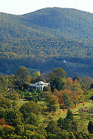 Monticello, the home of Thomas Jefferson located in Charlottesville, Va. photo/Andrew Shurtleff..Monticello thomas jefferson fall Display image Only: Monticello-the historical home of Thomas Jefferson located in Charlottesville, Va. Photo/Andrew Shurtleff
