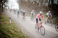 defending race champion Tiesj Benoot (BEL/Lotto-Soudal)<br /> <br /> 13th Strade Bianche 2019 (1.UWT)<br /> One day race from Siena to Siena (184km)<br /> <br /> ©kramon