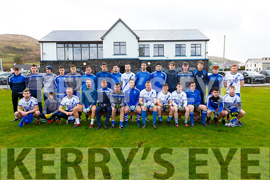 St Marys Cahersiveen team who will take on Piarsaigh na Dromoda in the South Kerry Final on Sunday in Portmagee.