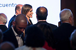 "Queen Letizia of Spain during the delivery of SM Awards of children's literature ""El Barco de Vapor"" and ""Gran Angular"" at Real Casa de Correos in Madrid. April 19,2016. (ALTERPHOTOS/Borja B.Hojas)"