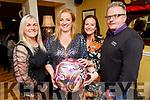 Angela Scanlon from Barrow Ardfert celebrating her 50th birthday in the Brogue Inn on Saturday.<br /> Bernie O'Sullivan, Angela, Ann and Tom Scanlon.
