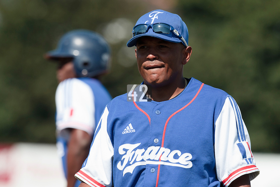 20 August 2010: Gerardo Leroux of Team France is seen during France 6-5 win over Italy, at the 2010 European Championship, under 21, in Brno, Czech Republic.