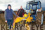 At the Ardfert Ploughing association Co. Championship Ploughing Match  on the lands of Michael McCarthy, Ballinprior, Ardfert on Sunday were Shane and James Godley, Ballymac
