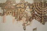 Judean Desert, the museum of the Good Samaritan, mosaic floor from the Samaritan Synagogue at El Khirbe