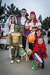 Jackson Lion's Club annual children's Halloween and costume parade down Main Street, Jackson, Calif.
