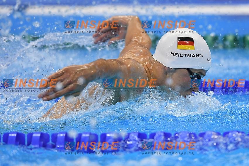 HEIDTMANN Jacob Ger <br /> Men's 400m Individual Medley <br /> Rio de Janeiro 06-08-2016 Olympic Aquatics Stadium <br /> Swimming Nuoto <br /> Foto Andrea Staccioli/Deepbluemedia/Insidefoto