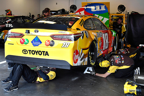 Monster Energy NASCAR Cup Series<br /> The Advance Auto Parts Clash<br /> Daytona International Speedway, Daytona Beach, FL USA<br /> Saturday 10 February 2018<br /> Kyle Busch, Joe Gibbs Racing, M&amp;M's Toyota Camry<br /> World Copyright: Rusty Jarrett<br /> LAT Images