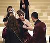 Lena Dunham and Nick Jonas attends the Costume Institute Gala at the Metropolitan Museum of Art honoring Rei Kawakubo/ Comme des Garcons: Art of the In-Between on May 1, 2017 in New York, New York, USA. <br /> <br /> photo by Robin Platzer/Twin Images<br />  <br /> phone number 212-935-0770