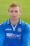 St Johnstone FC 2013-14<br /> Liam Caddis<br /> Picture by Graeme Hart.<br /> Copyright Perthshire Picture Agency<br /> Tel: 01738 623350  Mobile: 07990 594431