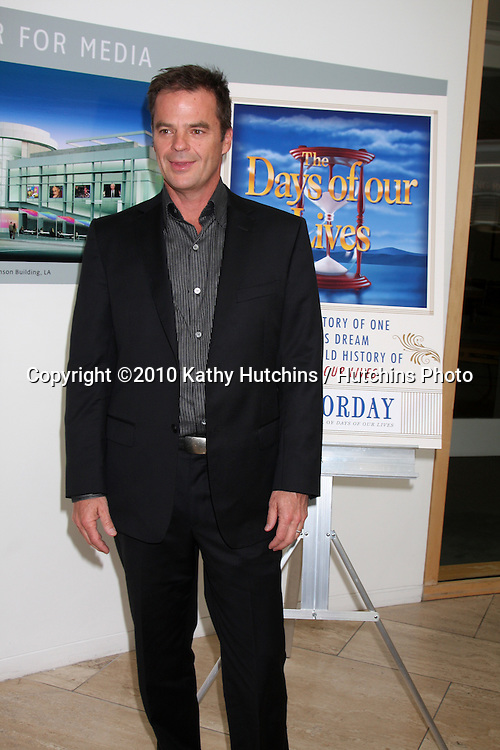 Wally Kurth.arriving at the Ken Corday Days of Our Lives Book Launch Party.Paley Center for Media.Beverly Hills, CA.April 29, 2010.©2010 Kathy Hutchins / Hutchins Photo...