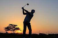 Gregory Havret (FRA) during previews ahead of the first round of the NBO Open played at Al Mouj Golf, Muscat, Sultanate of Oman. <br /> 13/02/2018.<br /> Picture: Golffile | Phil Inglis<br /> <br /> <br /> All photo usage must carry mandatory copyright credit (&copy; Golffile | Phil Inglis)
