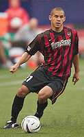 Craig Ziadie of the MetroStars. The Chicago Fire defeated the NY/NJ MetroStars 3-2 on 6/14/03 at Giant's Stadium, NJ..
