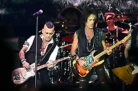 The Hollywood Vampires, Johnny Depp, Joe Perry<br /> performing at Olympic stadium. Moscow, Russia on May 28, 2018.<br /> **Not for sale in Russia or FSU**<br /> CAP/PER/EN<br /> &copy;EN/PER/Capital Picturess