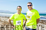 Enjoying the 2017  Ballyheigue, Half on the Head & 10km Run on Saturday were Derry Sheehy and Brian Cahill