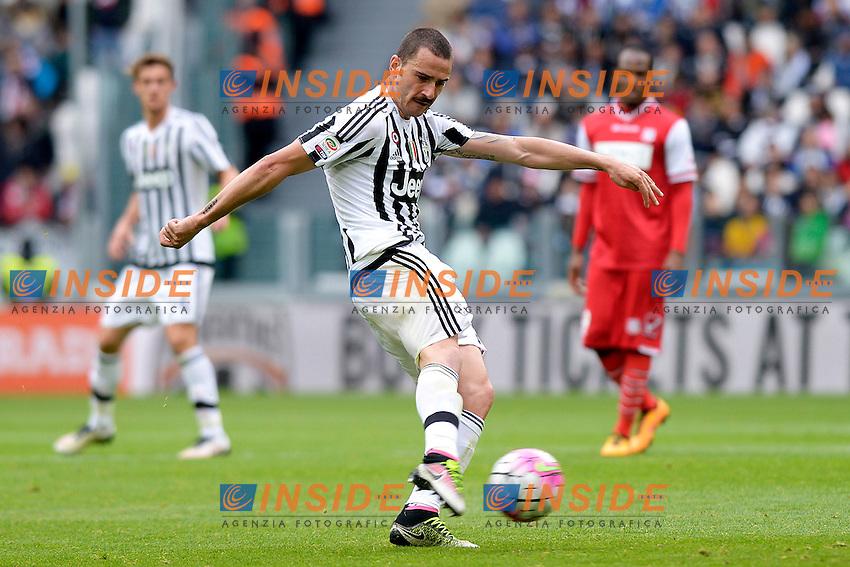 Leonardo Bonucci Juventus <br /> Torino 01-05-2016 Juventus Stadium Football Calcio Serie A 2015/2016 Juventus - Carpi. Foto Filippo Alfero / Insidefoto