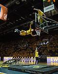 09.06.2019, EWE Arena, Oldenburg, GER, easy Credit-BBL, Playoffs, HF Spiel 3, EWE Baskets Oldenburg vs ALBA Berlin, im Bild<br /> Halbzeitshow #Dunking-Devils<br /> <br /> Foto © nordphoto / Rojahn