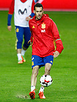 Spain's Sergio Busquets during training session. March 23,2017.(ALTERPHOTOS/Acero)
