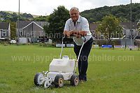 Entertainer Max Boyce at the Glyn Neath rugby club ground. Thursday 24th Aug 2017<br /> <br /> <br /> Jeff Thomas Photography -  www.jaypics.photoshelter.com - <br /> e-mail swansea1001@hotmail.co.uk -<br /> Mob: 07837 386244 -<br /> <br /> Copyright of these pictures is owned by &quot;The Rugby Paper&quot; and any use of these pictures is completely restricted.