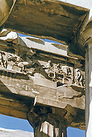Greece: The Parthenon--part of the west frieze.