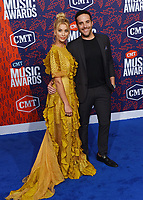 NASHVILLE, TENNESSEE - JUNE 05: Tyler Rich, Sabina Gadecki attend the 2019 CMT Music Awards at Bridgestone Arena on June 05, 2019 in Nashville, Tennessee. <br /> CAP/MPI/IS/NC<br /> ©NC/IS/MPI/Capital Pictures