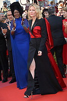 Khadja Nin &amp; Cate Blanchett at the closing gala screening for &quot;The Man Who Killed Don Quixote&quot; at the 71st Festival de Cannes, Cannes, France 19 May 2018<br /> Picture: Paul Smith/Featureflash/SilverHub 0208 004 5359 sales@silverhubmedia.com