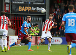 Chris Basham of Sheffield Utd during the English League One match at Glanford Park Stadium, Scunthorpe. Picture date: September 24th, 2016. Pic Simon Bellis/Sportimage