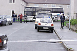 The aftermath of the shooting in Dundalk Co Louth.Pic Newsfile.©Newsfile