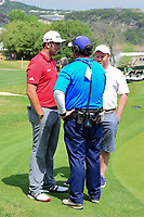 Jon Rahm (ESP) is interviewed following round 6 of the World Golf Championships, Dell Technologies Match Play, Austin Country Club, Austin, Texas, USA. 3/26/2017.<br /> Picture: Golffile | Ken Murray<br /> <br /> <br /> All photo usage must carry mandatory copyright credit (&copy; Golffile | Ken Murray)