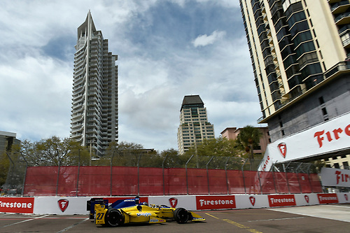 11-13 March, 2016, St Petersburg, Florida USA<br /> 27 Marco Andretti <br /> ©2016 Scott R LePage <br /> LAT Photo USA