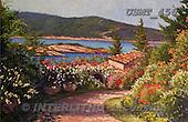 Malenda, LANDSCAPES, paintings, USMT456,#L# Landschaften, Schiffe, paisajes, barcos, llustrations, pinturas
