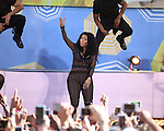 "Nicki Minaj performs as part of ""Good Morning America's"" 2015 Summer Concert Series in Central Park"